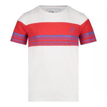 Australian kids duo T-shirt   wit - rood