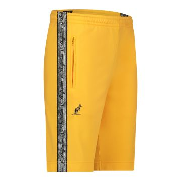 Australian bermuda with two zippers and a silver stripe 2.0   sunflower yellow
