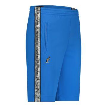 Australian bermuda with two zippers and a silver stripe 2.0   capri blue
