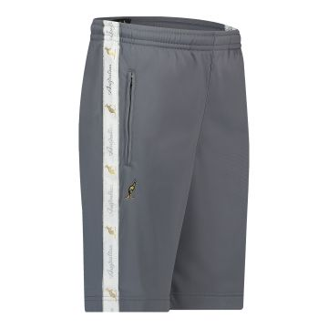 Australian bermuda with two zippers and a white stripe 2.0   grey