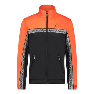 Australian duo jacket silver chest stripe 2.0 | black - lava