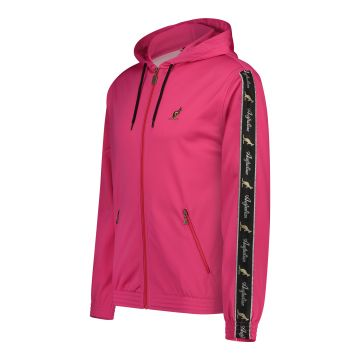 Australian jack with hood and black stripe on the sleeves 2.0 | pink