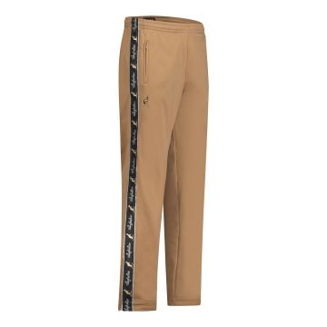 Australian pants with 2 zippers and black stripe 2.0   bronze