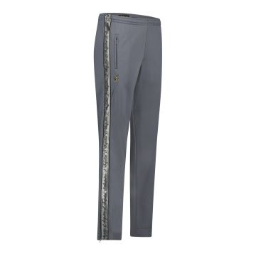 Australian pants with silver stripe and 2 zippers 2.0   grey
