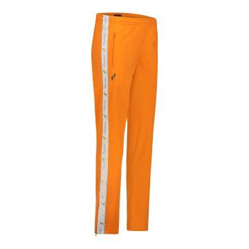 Australian pants with white stripe and 2 zippers 2.0   neon orange