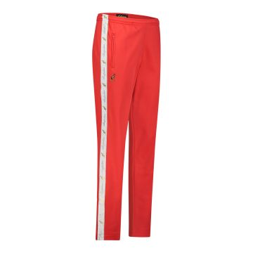 Australian pants with white stripe and 2 zippers 2.0   red