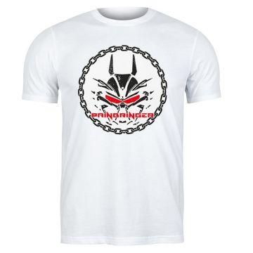 Painbringer T-shirt chained   white