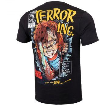 Pit Bull T-shirt scare   black