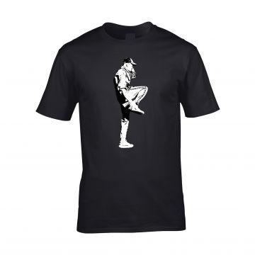 HakkuhVideos T-shirt gabber at the front logo at the back   black