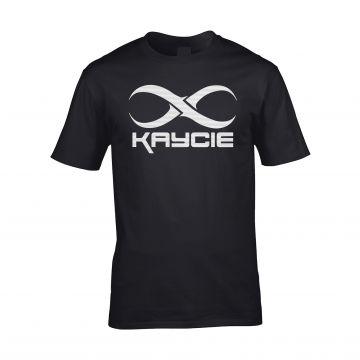 DJ Kaycie T-shirt logo   black