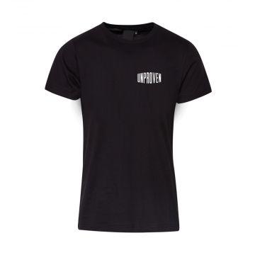 Unproven T-shirt logo design II   black