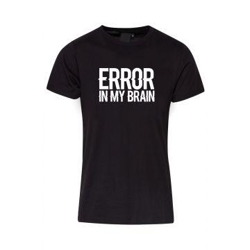 Hard-Wear T-shirt Error In My Brain   black