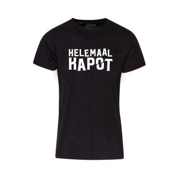 Hard-Wear T-shirt Helemaal Kapot   black