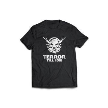 Terror Till I die T-shirt black