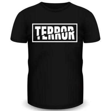 Terror T-shirt 3X zwart