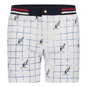Australian kids korte broek stripes   wit