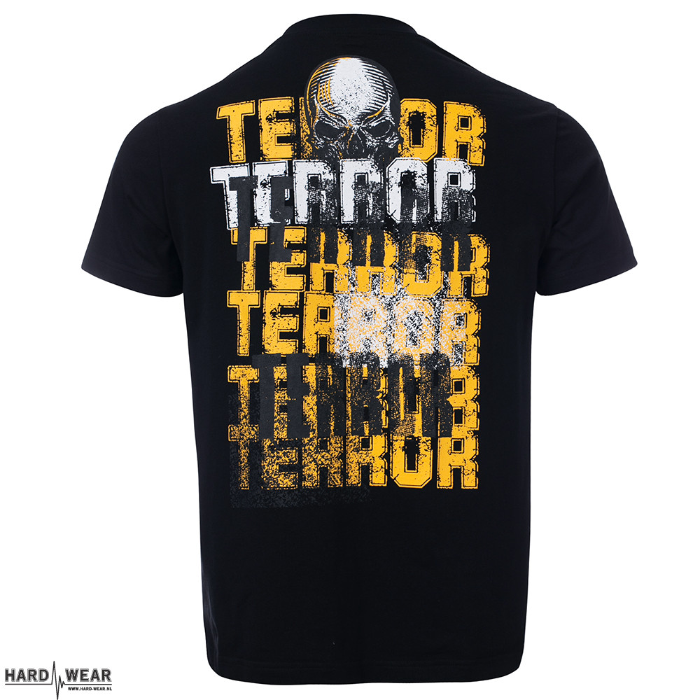 Terror T-shirt | Toxic College x black