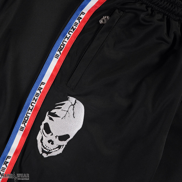 Frenchcore tracksuit bottoms | classic logo ☓ black