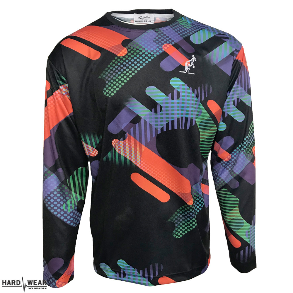 Australian longsleeve full color print 040