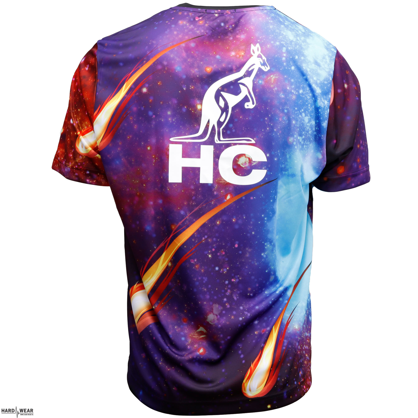 Australian T-shirt Hard Court x apocalypse | full print
