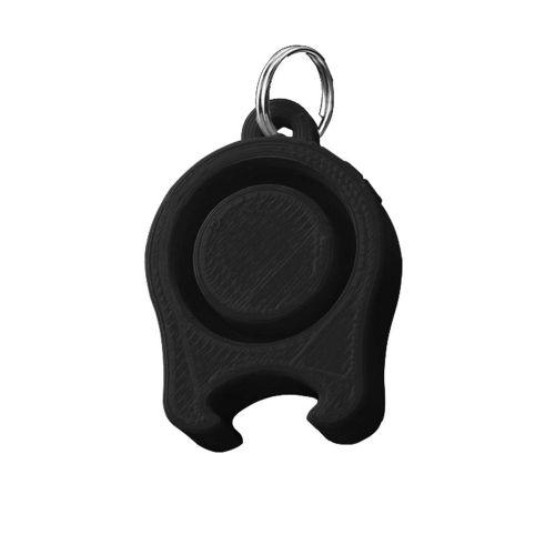 Festicap universal festival cap with beer opener   black